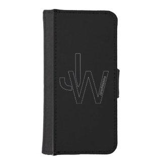 JaredWatkins black logo iPhone 5/5s wallet case iPhone 5 Wallet