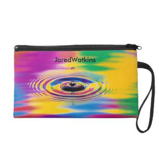 JaredWatkins 'Splash of color wristlet'