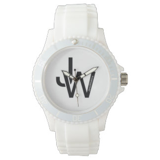 JaredWatkins 'sporty' logo watch