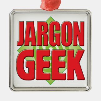 Jargon Geek v2 Christmas Ornament