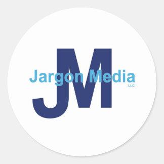 Jargon Media LLC Classic Round Sticker