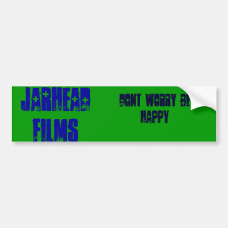 JarHead Films, dont worry be happy sticker
