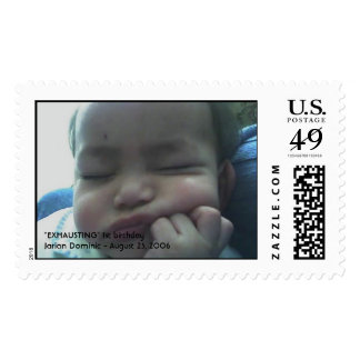 Jarian Dominic Postage Stamps