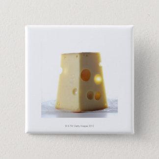 Jarlsberg Cheese Slice Button