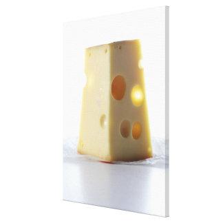 Jarlsberg Cheese Slice Canvas Print