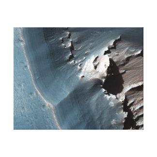 Jarosite on Mars Canvas Print