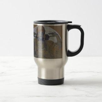 Jaroslava Mucha by Alphonse Mucha Travel Mug