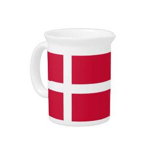 Jarra danesa de la bandera