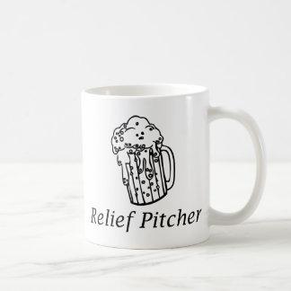 Jarra de alivio taza de café