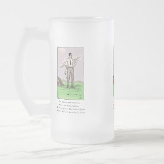 Jarra de cerveza del vidrio del premio del trofeo