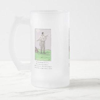 Jarra de cerveza del vidrio del premio del trofeo  tazas de café
