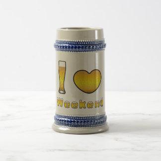 Jarra de cerveza i LOVE WEEKEND
