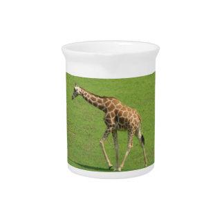 Jarra de itinerancia de la jirafa
