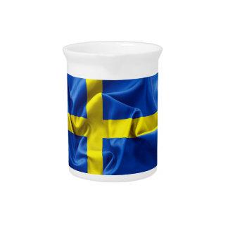 Jarra de la bandera de Suecia
