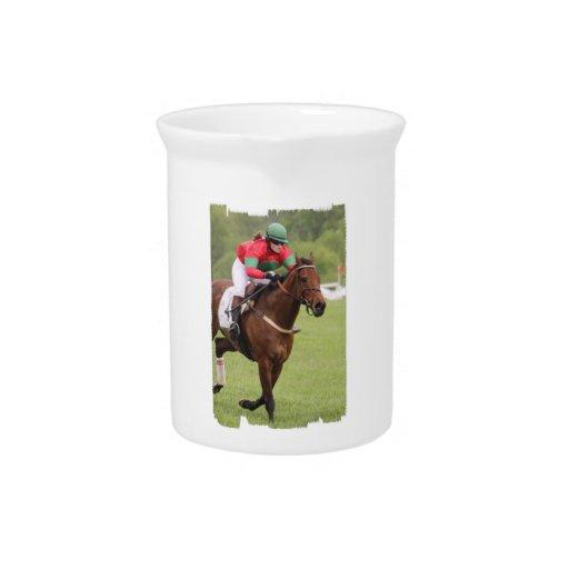 Jarra de la carrera de caballos