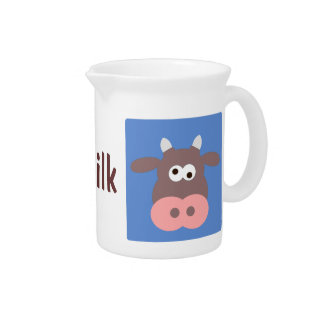 Jarra de la vaca del dibujo animado