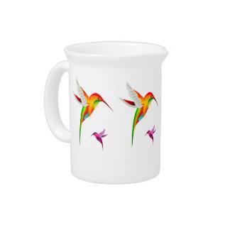 Jarra de los colibríes