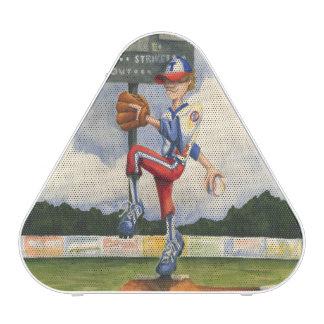 Jarra del béisbol en el montón de Jay Throckmorton Altavoz Bluetooth