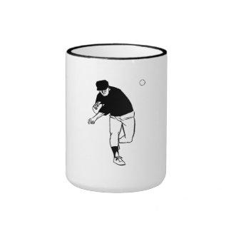 Jarra del béisbol taza de café