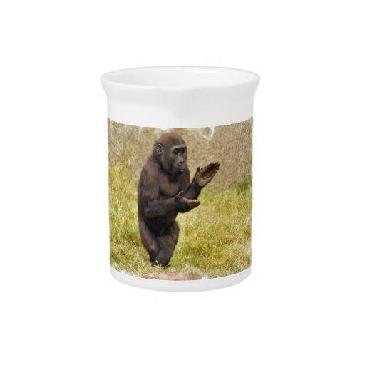 Jarra del chimpancé