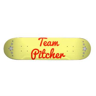 Jarra del equipo patines personalizados