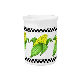 Jarra del maíz en la mazorca