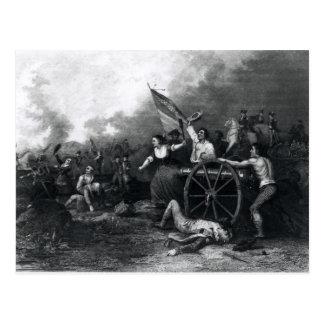 Jarra del Moll en la batalla de Monmouth Postales