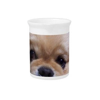Jarra del perrito de Pekingese