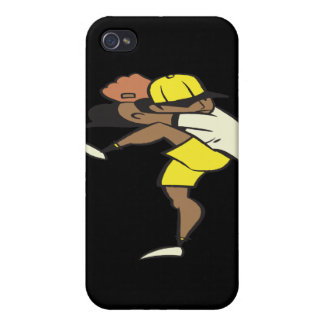 Jarra del softball iPhone 4/4S funda