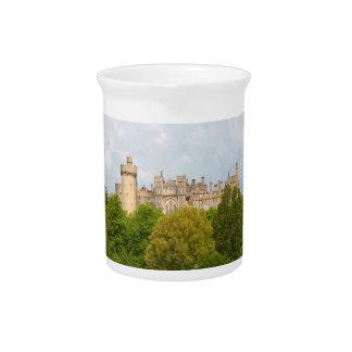 Jarra histórica de la foto del castillo de Arundel