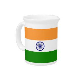 Jarra india de la bandera