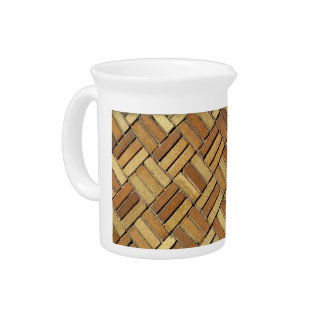 jarra - ladrillo de la armadura de cesta