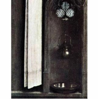 Jarra y cuenco americanos con el paño de Eyck Hube Escultura Fotografica