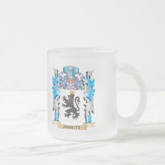 Jarrett Coat of Arms - Family Crest 10 Oz Frosted Glass Coffee Mug