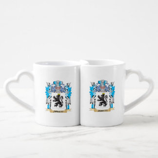 Jarrett Coat of Arms - Family Crest Couples' Coffee Mug Set