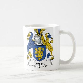 Jarrett Family Crest Coffee Mug