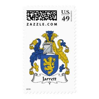 Jarrett Family Crest Postage Stamps