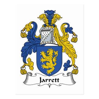 Jarrett Family Crest Postcard