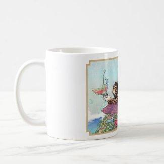 Jarri mug with border mug