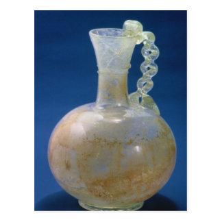 Jarro de cristal, romano, siglo III Tarjetas Postales