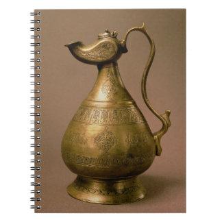 Jarro de Nakhtchivan, Persia, 1190 (586 Hijra) (e Libro De Apuntes Con Espiral
