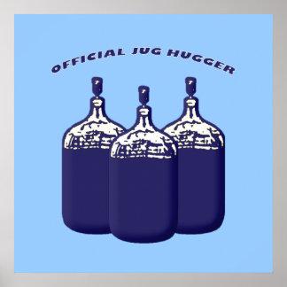 Jarro oficial Hugger Posters