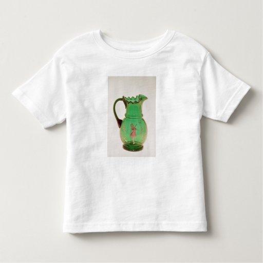 Jarro verde de Maria Gregory con el esmalte Playera