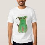 Jarro verde de Maria Gregory con el esmalte Playeras