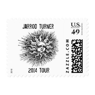Jarrod Turner 2014 Tour Sun Logo Stamp
