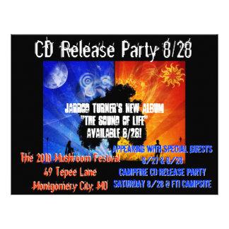Jarrod's CD Release Flyer