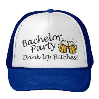 Jarros de la cerveza de la despedida de soltero gorras
