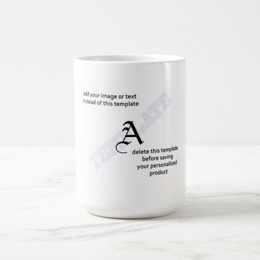 Jarros del monograma taza de café
