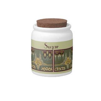 Jars: Deco Sugar Candy Jars