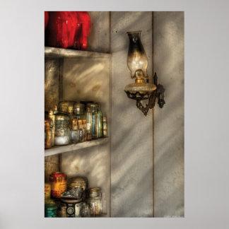 Jars - Kitchen Corner Poster